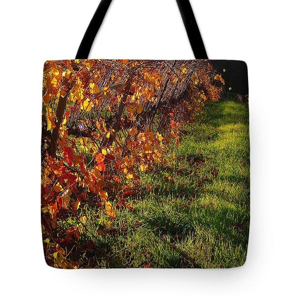 Vineyard 13 Tote Bag by Xueling Zou
