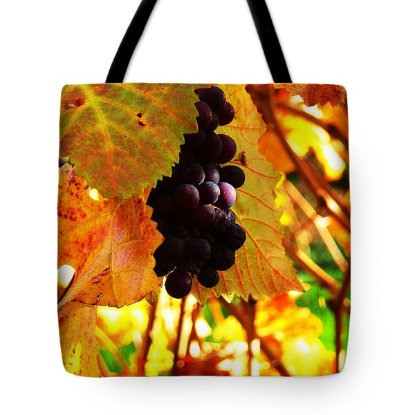 Vineyard 20 Tote Bag by Xueling Zou