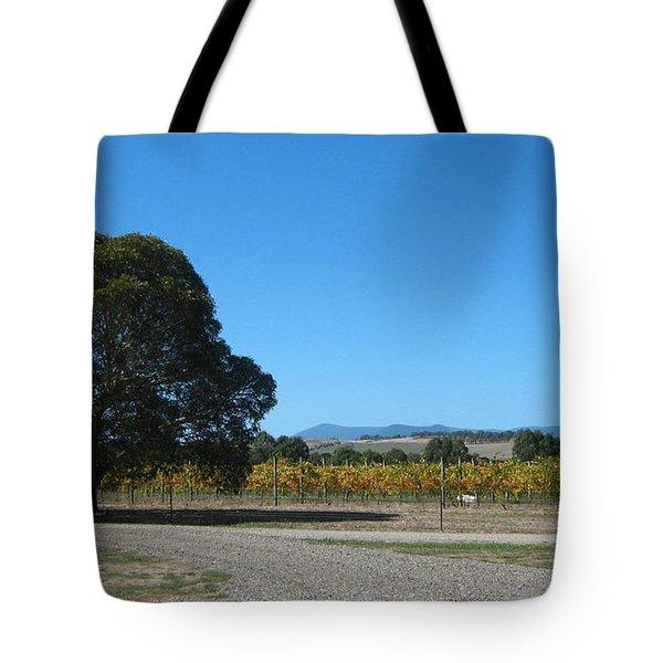 Vineyard Trees Tote Bag