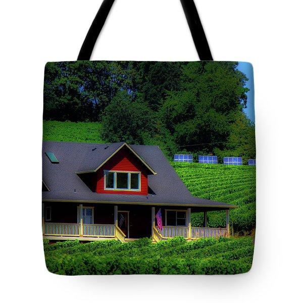 Vineyards Tote Bag