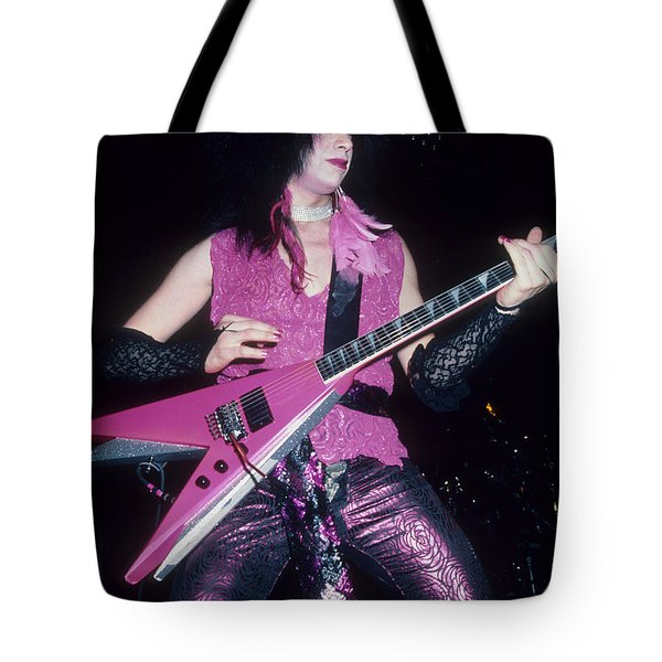 Vinnie Vincent Tote Bag