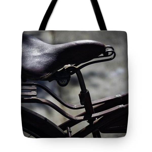 Vintage 1933 Elgin Bicycle Seat Tote Bag