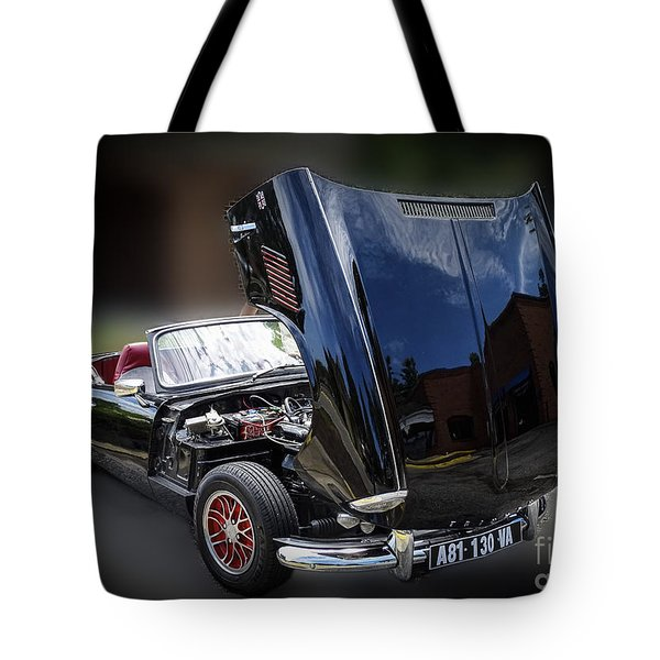 Tote Bag featuring the photograph Vintage 1966 Spitfire by Melissa Messick