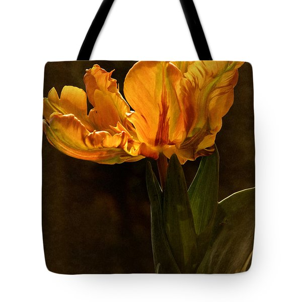 Tote Bag featuring the photograph Vintage 2017 Tulip by Richard Cummings