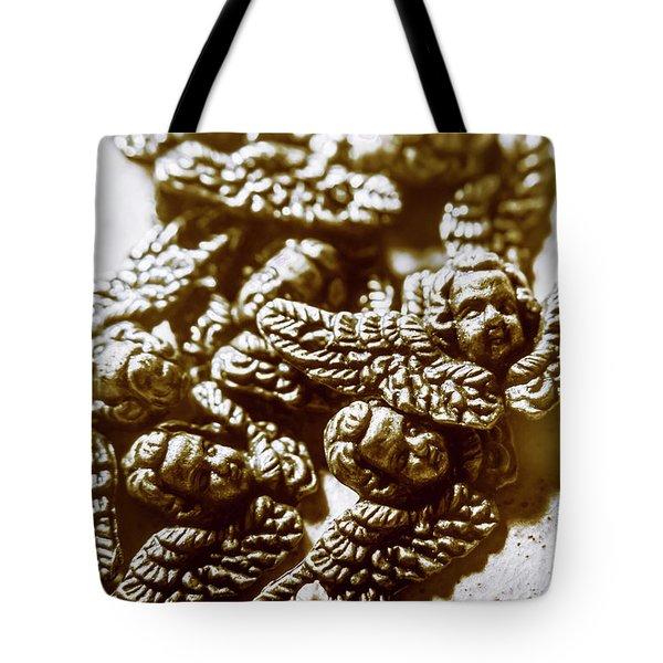 Vintage Angels Artwork Tote Bag