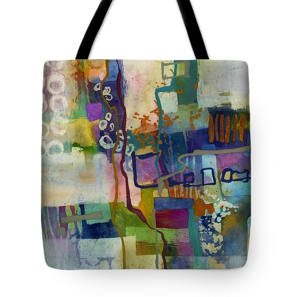 Tote Bag featuring the painting Vintage Atelier by Hailey E Herrera