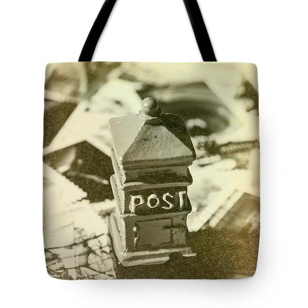 Vintage Australian Postage Art Tote Bag
