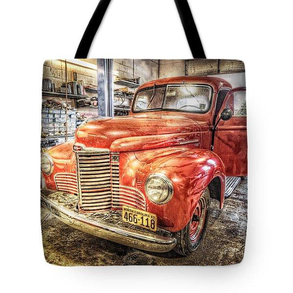 Vintage Auto Service Garage Tote Bag