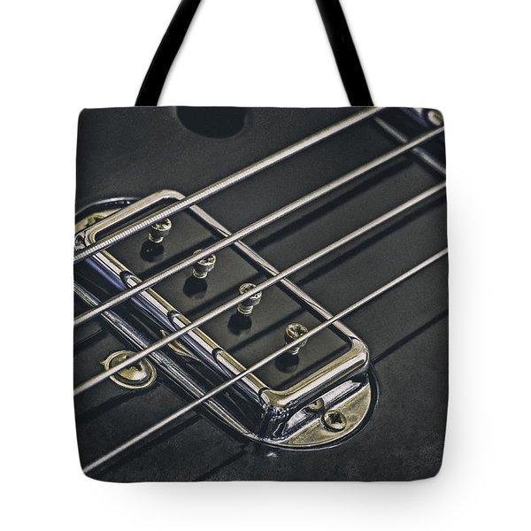 Vintage Bass Tote Bag