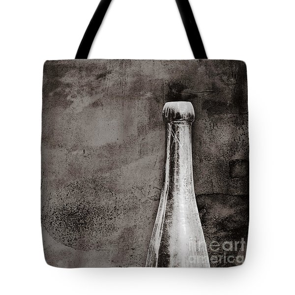 Tote Bag featuring the photograph Vintage Beer Bottle by Andrey  Godyaykin