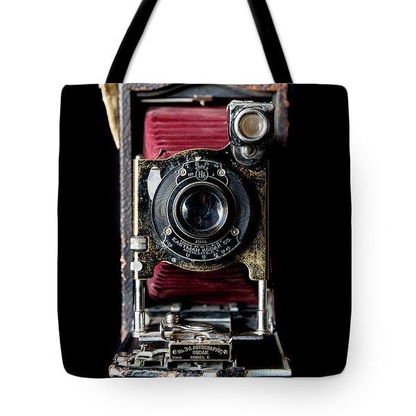 Vintage Bellows Camera Tote Bag