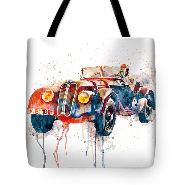 Vintage Driver  Tote Bag