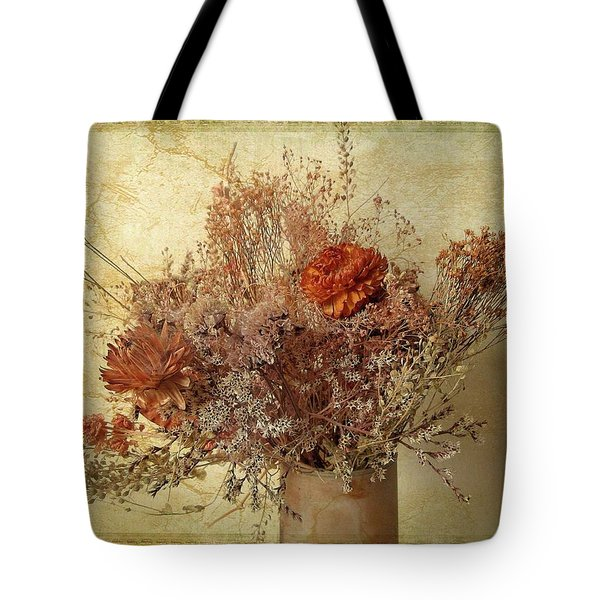 Tote Bag featuring the photograph Vintage Bouquet by Jessica Jenney