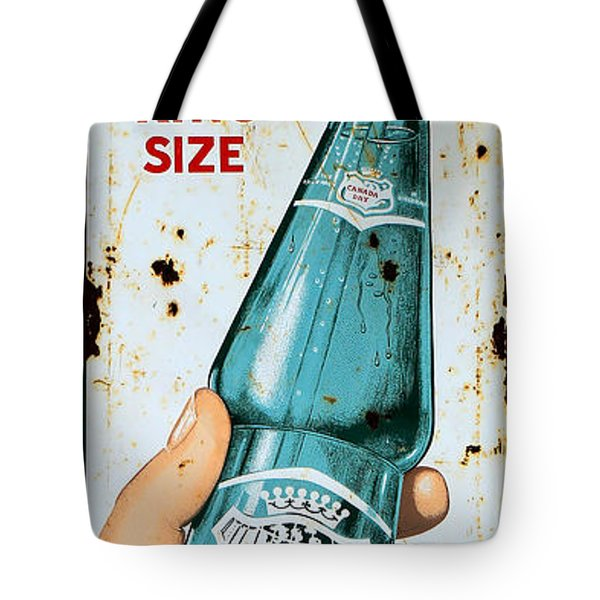 Vintage Canada Dry Sign Tote Bag by Andrew Fare