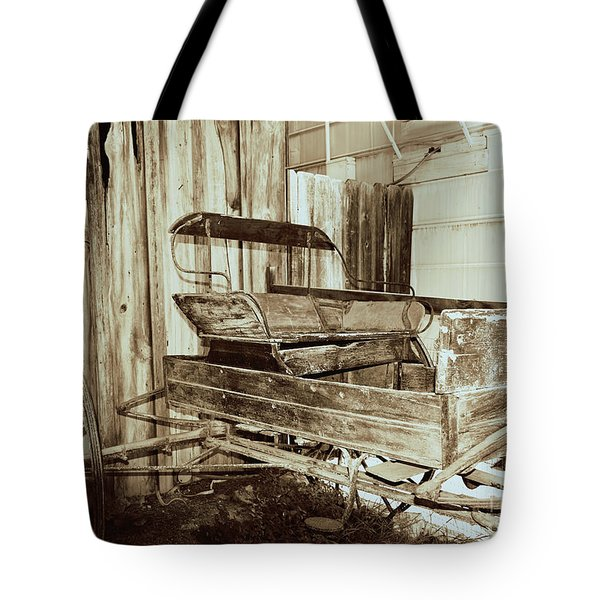 Vintage Carriage Tote Bag by Ray Shrewsberry