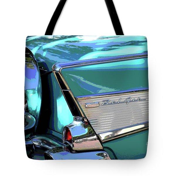 Vintage Chevrolet Belair Tote Bag