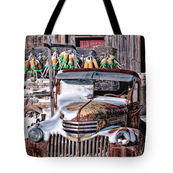 Vintage Chevrolet Tote Bag by Richard Bean