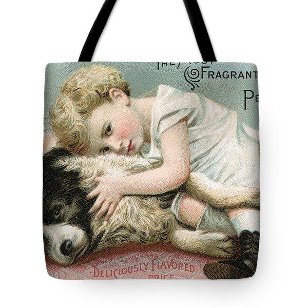 Vintage Cologne Advertisement Tote Bag
