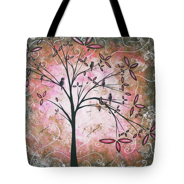Vintage Couture By Madart Tote Bag by Megan Duncanson