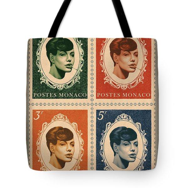 Vintage Deja Vu Tote Bag by Udo Linke