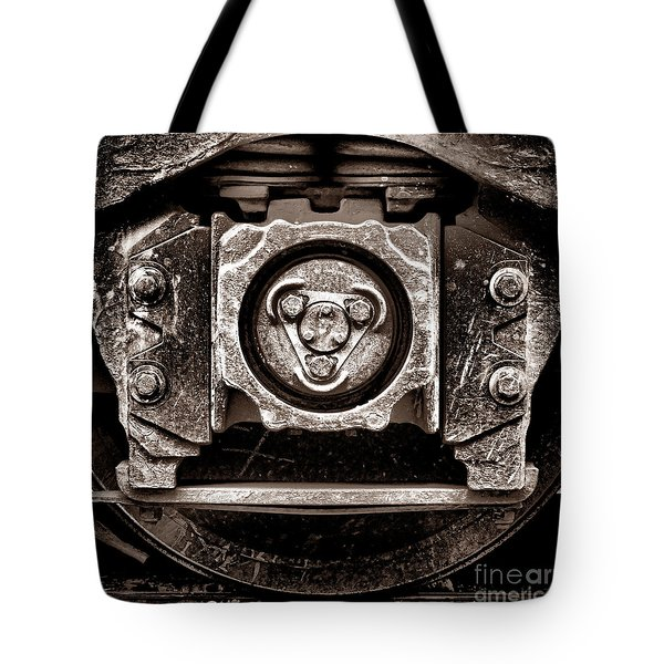Vintage Diesel Engine Locomotive Truck Tote Bag