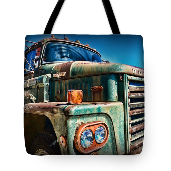 Vintage Dodge 700 Diesel Truck  Tote Bag