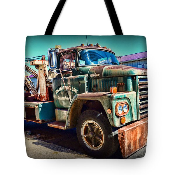 Vintage Dodge Tow Truck Tote Bag