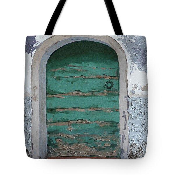 Vintage Series #2 Door Tote Bag