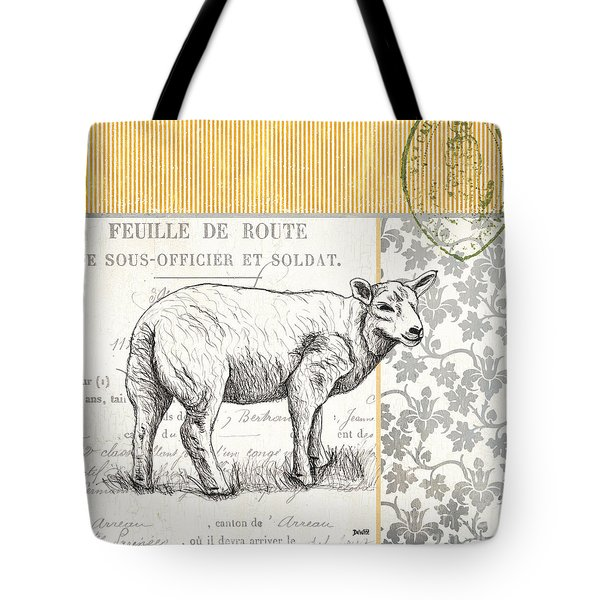 Vintage Farm 3 Tote Bag