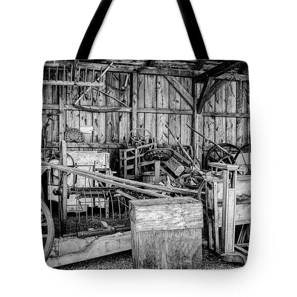 Vintage Farm Display Tote Bag