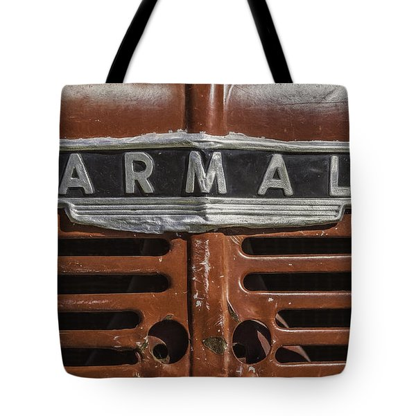 Vintage Farmall Tractor Tote Bag