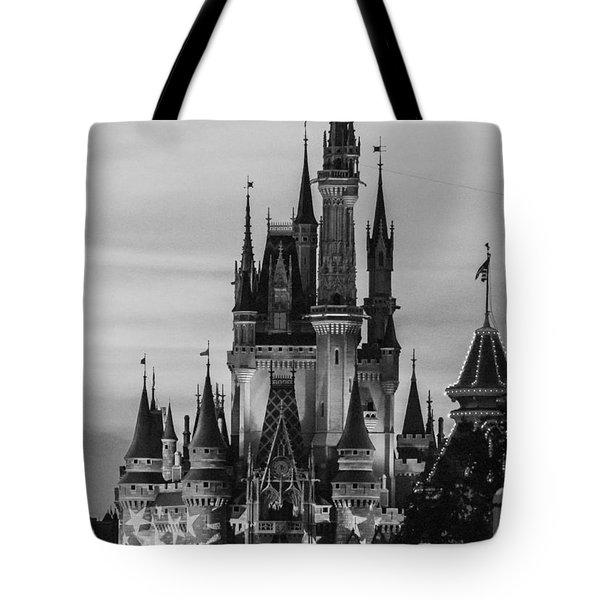 Vintage Film Castle Tote Bag
