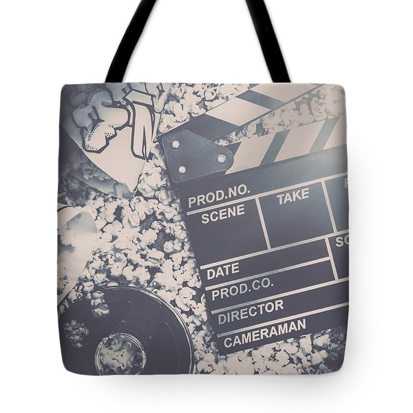 Vintage Film Production Tote Bag