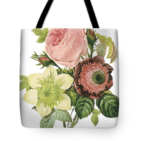 Vintage Flowers 2 Tote Bag