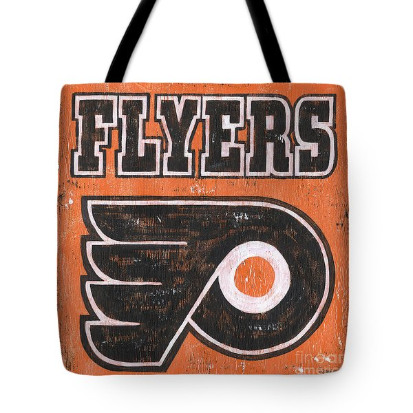 Vintage Flyers Sign Tote Bag