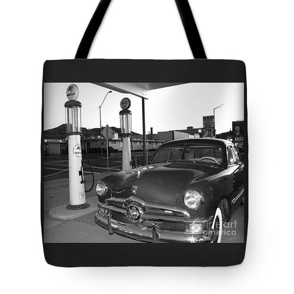 Vintage Ford Tote Bag by Rebecca Margraf