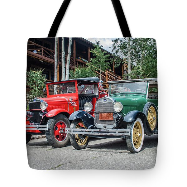 Vintage Ford's Tote Bag