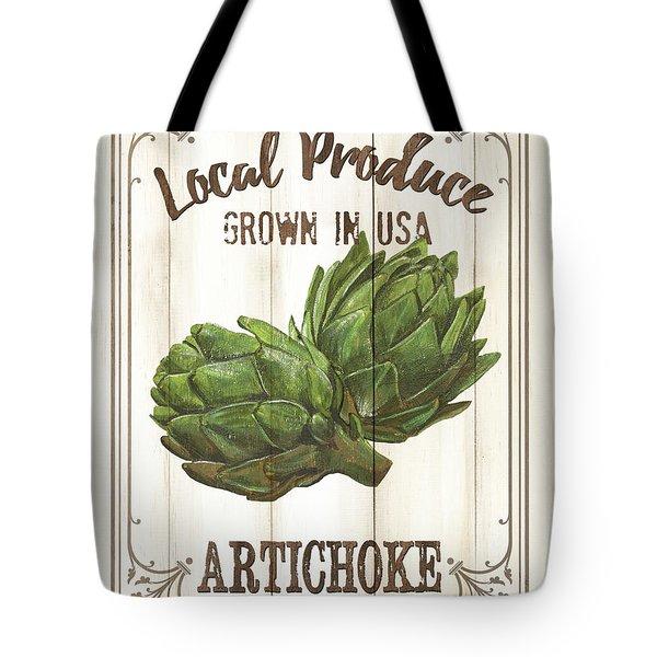 Vintage Fresh Vegetables 2 Tote Bag