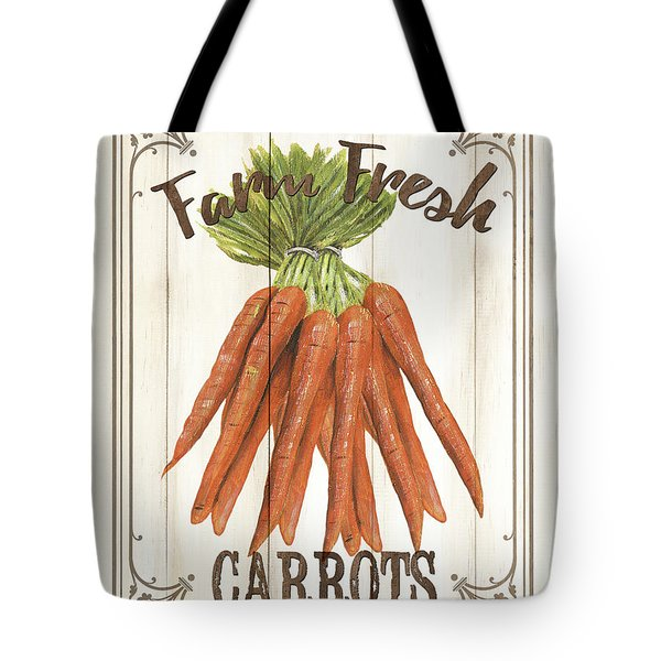 Vintage Fresh Vegetables 3 Tote Bag