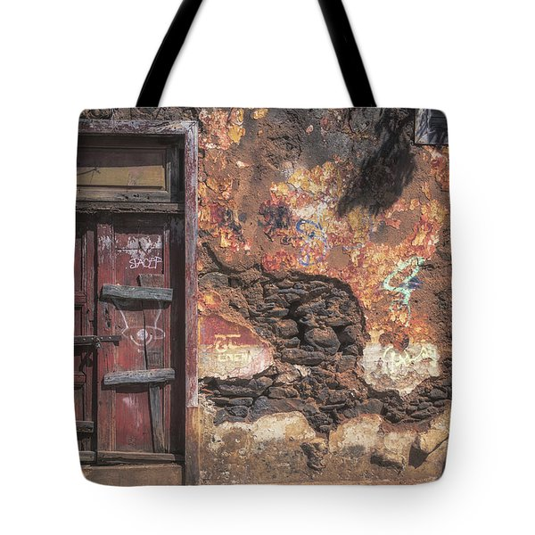 Vintage Frontages Of Tenerife No 3 Tote Bag