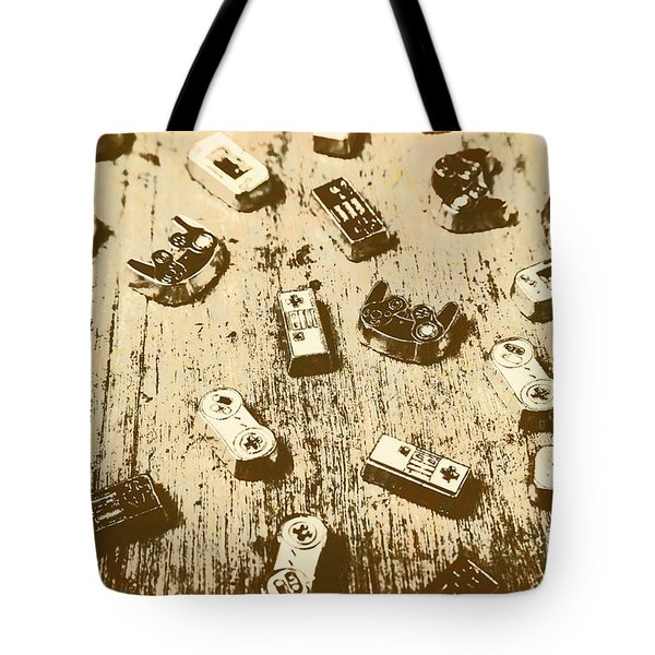 Vintage Gamers Tote Bag
