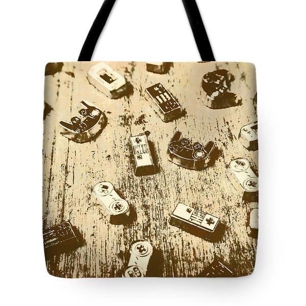 Vintage Gamers Tote Bag