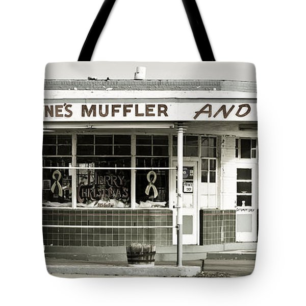 Vintage Gas Station Tote Bag