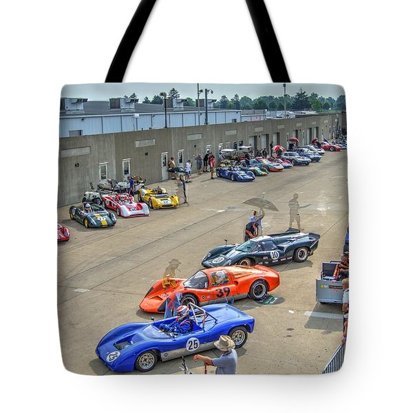 Vintage Gasoline Alley  Tote Bag