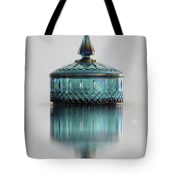 Vintage Glass Candy Jar Tote Bag