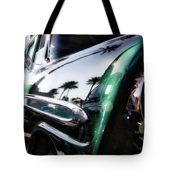 Vintage Green Tote Bag