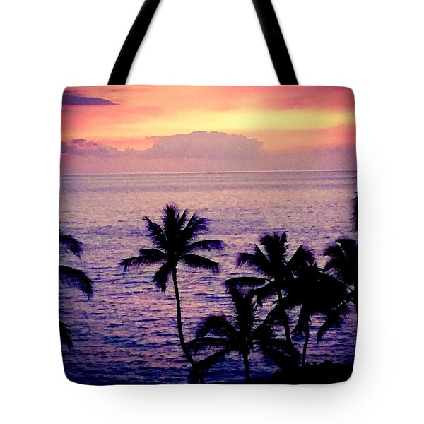 Vintage Hawaii Tote Bag