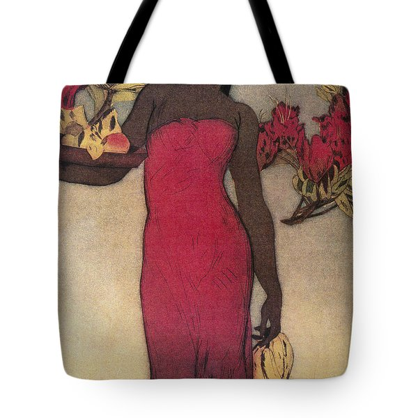 Vintage Hawaiian Woman Tote Bag by Hawaiiam Legacy Archives - Printscapes