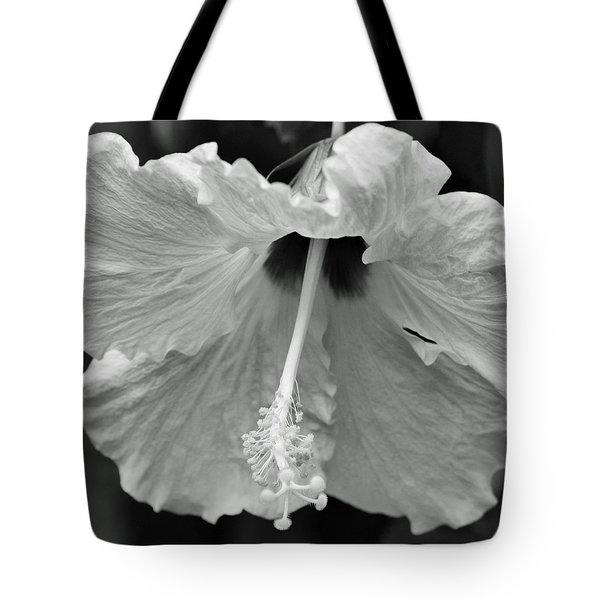 Vintage Hibiscus II Tote Bag by Melanie Moraga