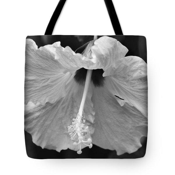 Vintage Hibiscus Tote Bag by Melanie Moraga
